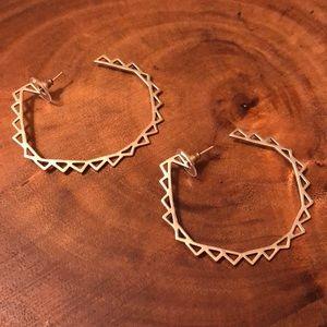 Kendra Scott Vintage Harley Hoop Earrings